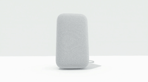 Google Home Max Vertical