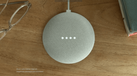 Google Home Mini Light Up