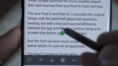 Highlighting Text