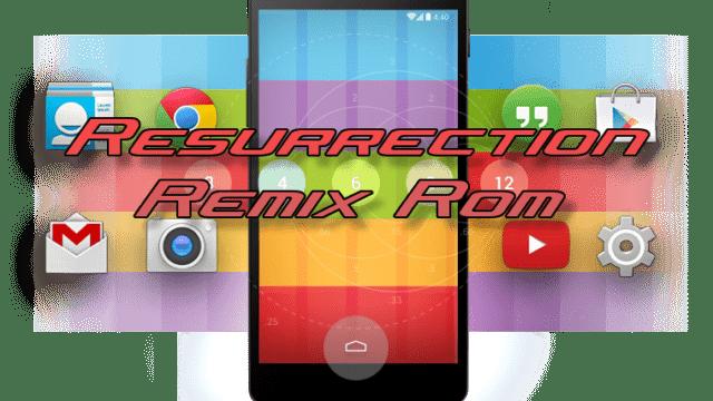 Unofficial Resurrection Remix