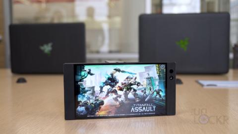 Razer Phone Playing a Game