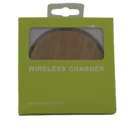 Qi Charging Disk Wooden in Box