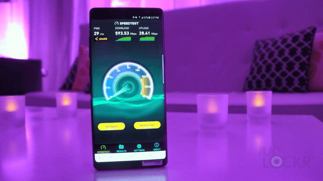Gigabit LTE Speedtest