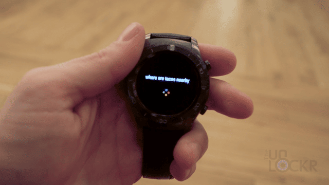 Google Assistant on Huawei Watch 2