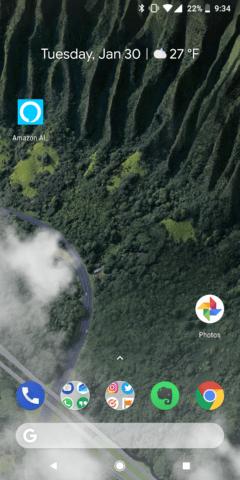 Open Alexa App