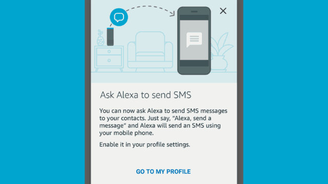 Send SMS Using Alexa