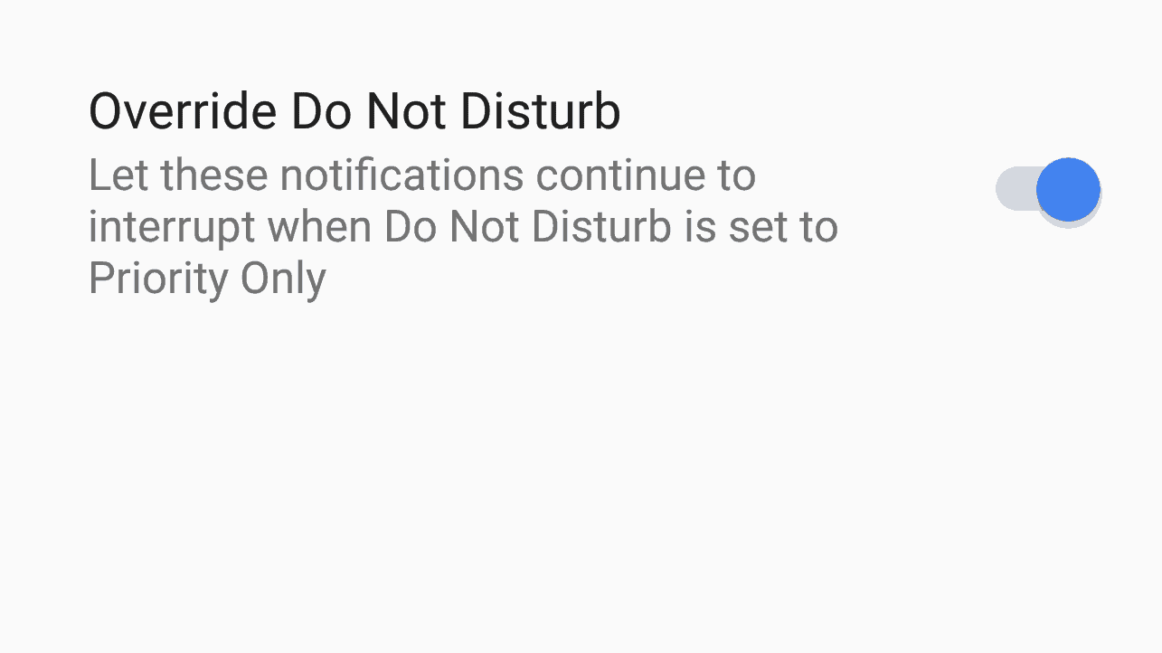 How to Override Do Not Disturb for Specific Apps