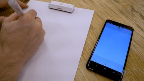 Writing Next to App