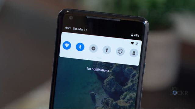 Android P Notification