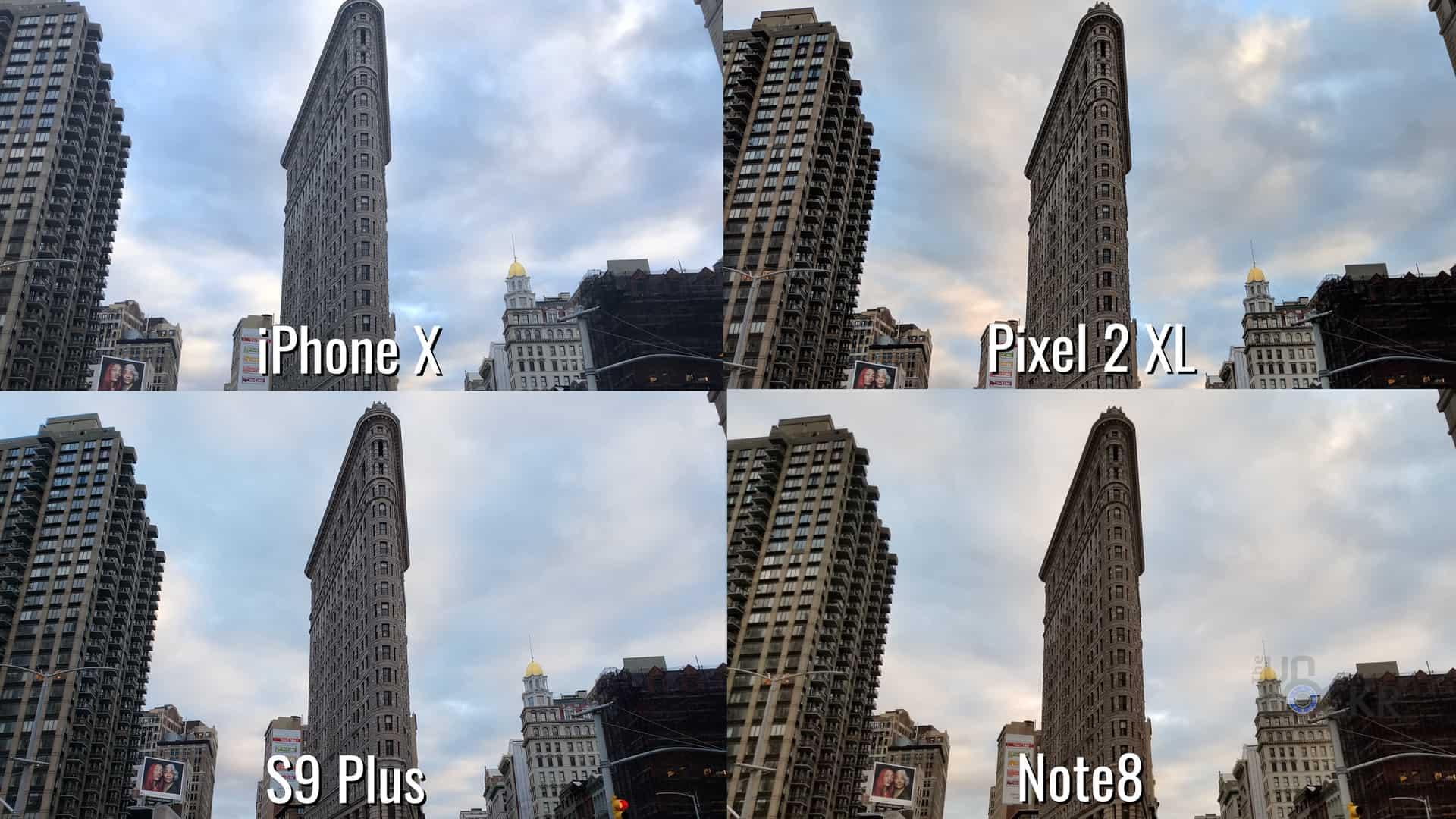 s8 vs iphone x kamera