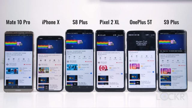 S9 Plus vs Flagships