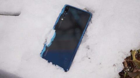 P20 Pro in Snow