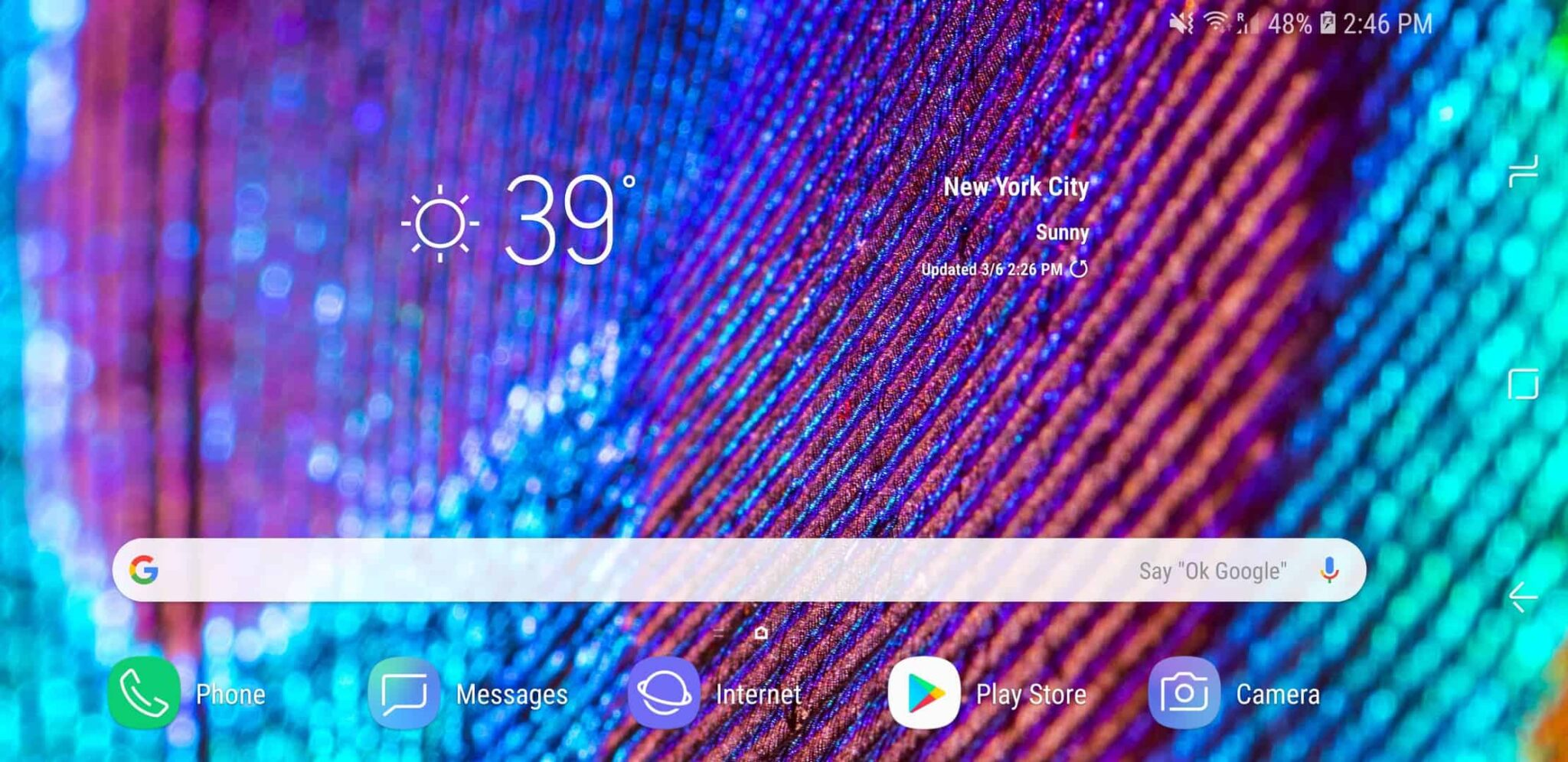 How to Rotate Your Home Screen on your Samsung Galaxy S9 Plus