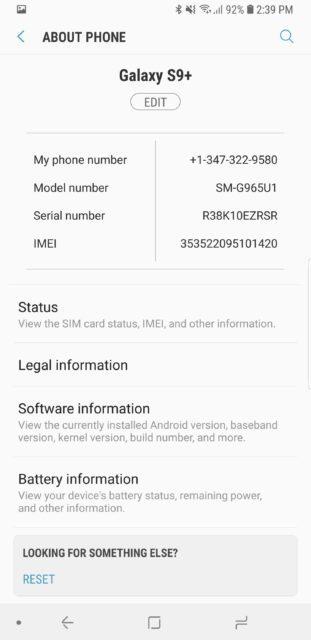 Software Information