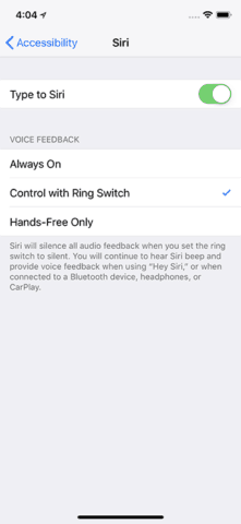 Turn Siri to Control with Ring Slider