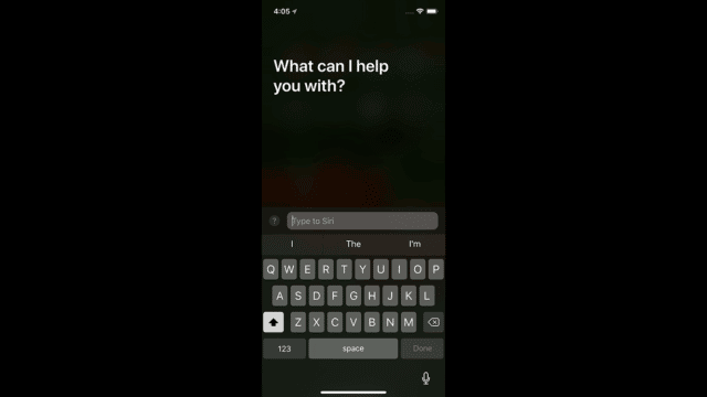 Typing to Siri Featured
