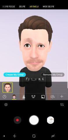 Using AR Emoji