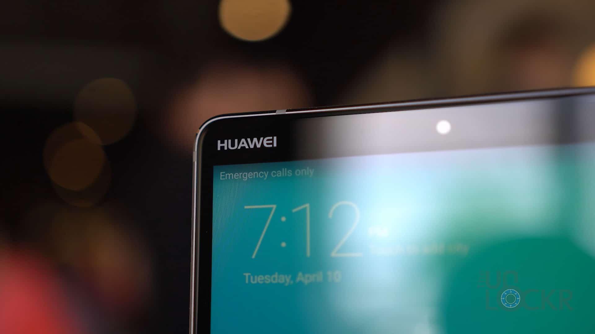 Huawei Logo on 8 Inch