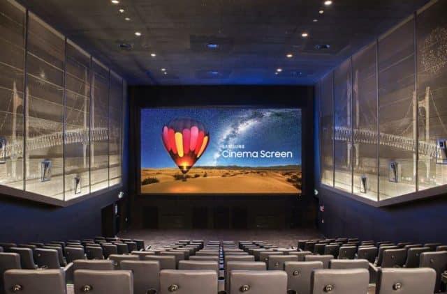 Samsung Cinema More Seats
