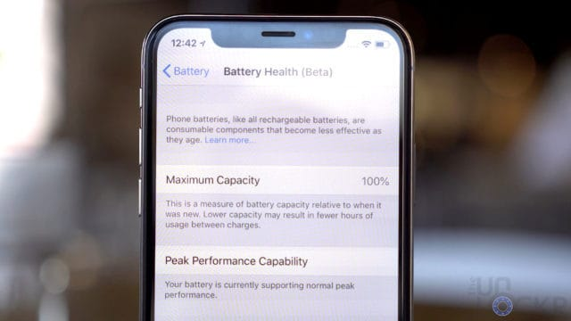 Showing Healthy Battery (2)