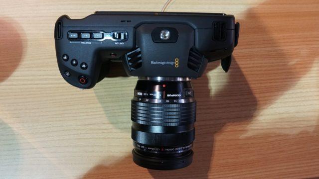 Top View of the Pocket Cinema Camera 4K