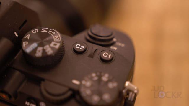 A7III Custom Buttons 1 & 2