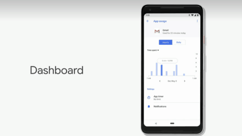 Android P App Dashboard