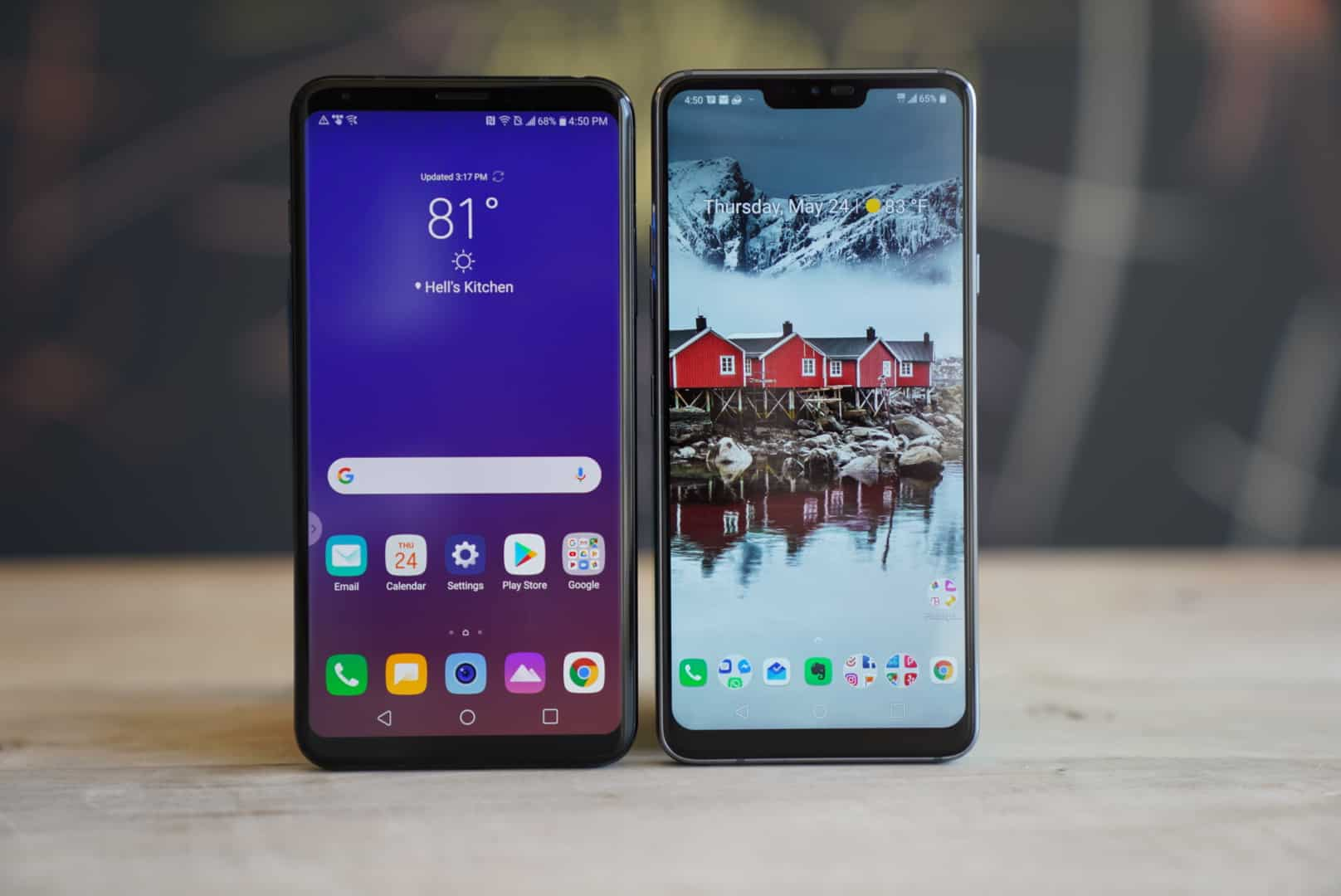LG V35 vs LG G7: What's the Difference?