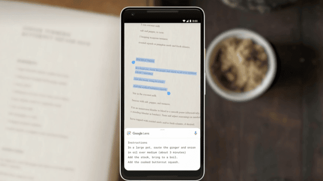 Google Lens Copy and Paste