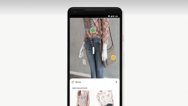Google Lens Shopping