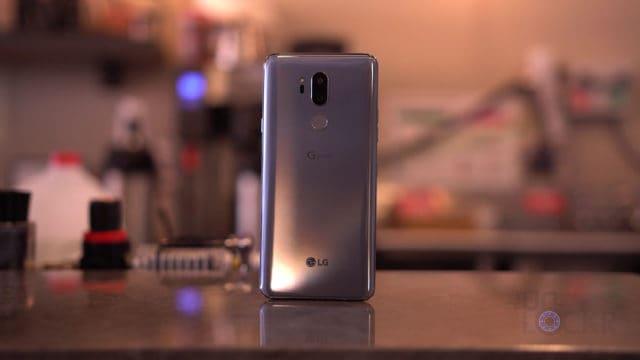 LG G7 Back