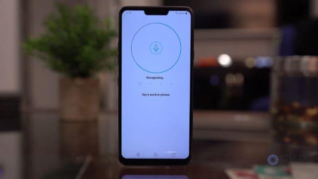 LG G7 Voice Unlock