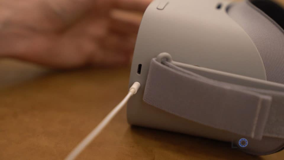 Oculus Go Headphone Jack