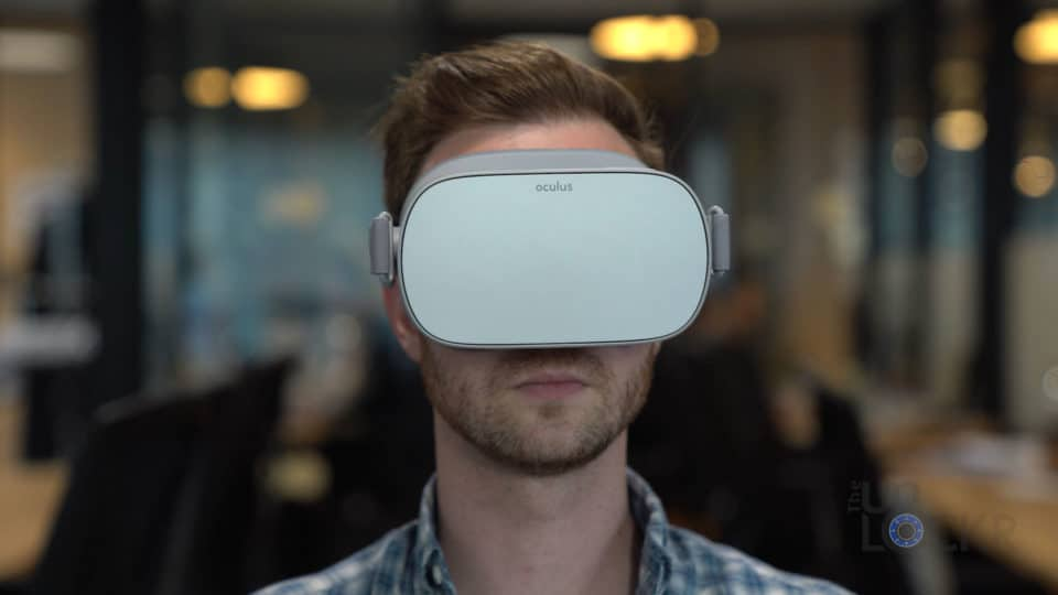 Oculus Go on Face