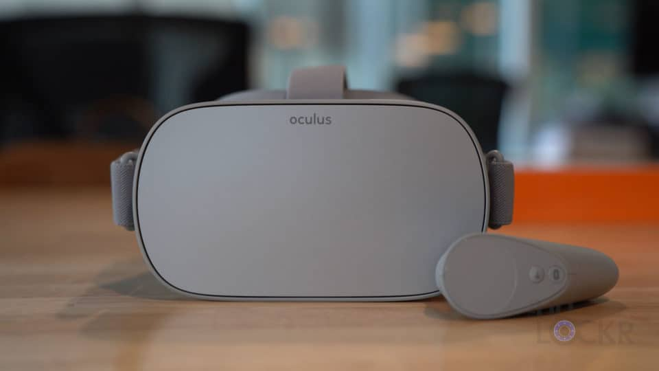 Oculus Go with Controller on Table