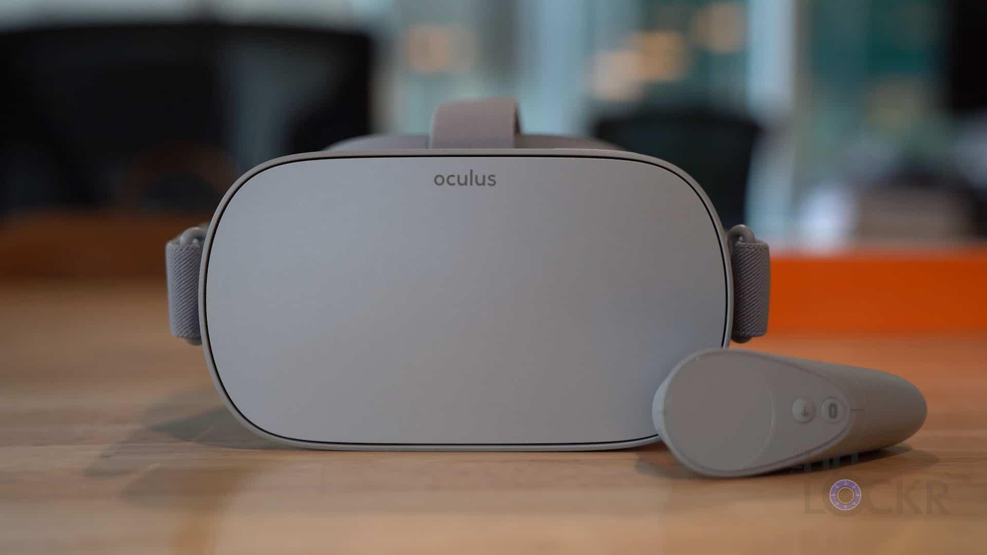 Oculus Go Reset View