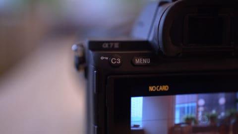 Sony A7III Custom 3 and Menu Buttons