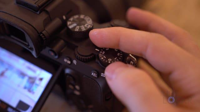 Sony A7III Exposure Dial