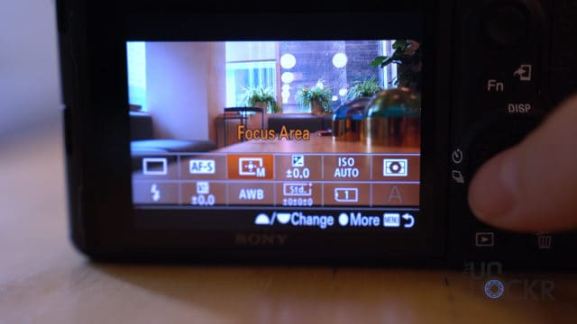 Sony A7III Function Menu