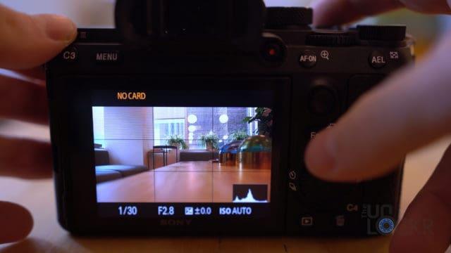 Sony A7III Joystick