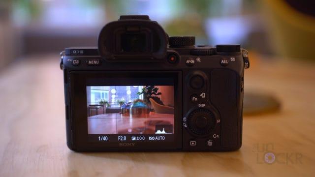 Sony A7III LCD