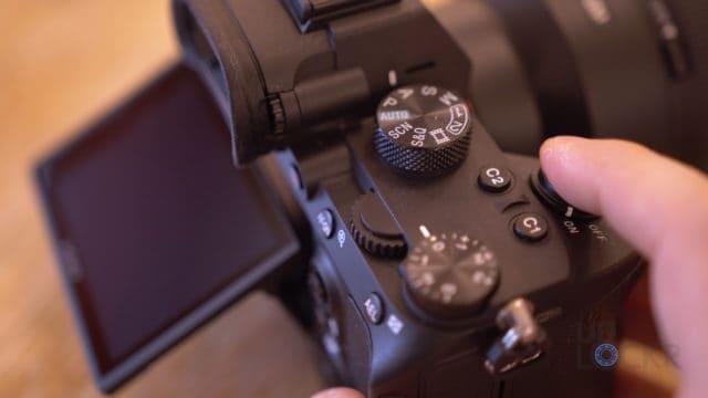 Sony A7III Shutter Button