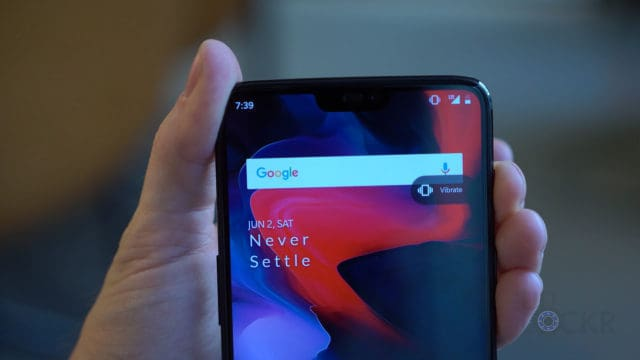 OnePlus 6 Notification Slider