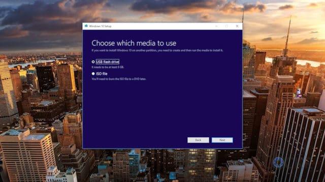Run Media Creation Tool 2