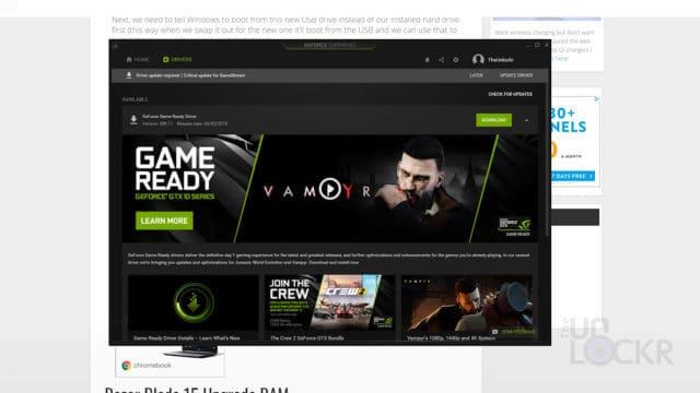Run NVIDIA GeForce Experience