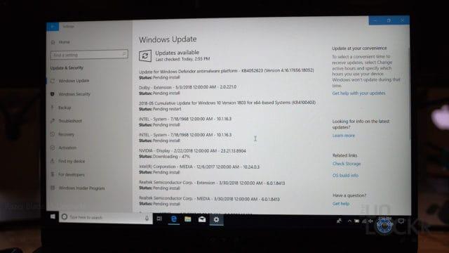 Run Windows Update Again