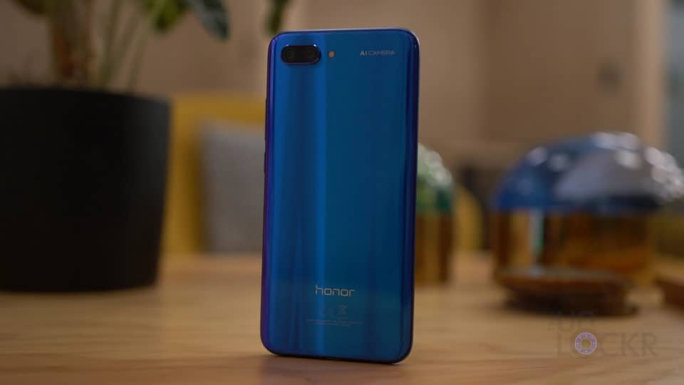 Honor 10 Glass back