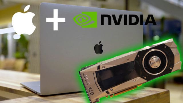 Apple Plus NVIDIA