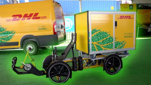 DHL Cubi Cycle Green Glow