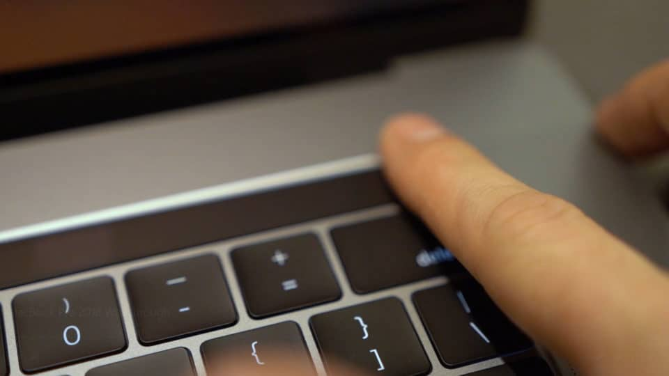 Touch ID on MacBook